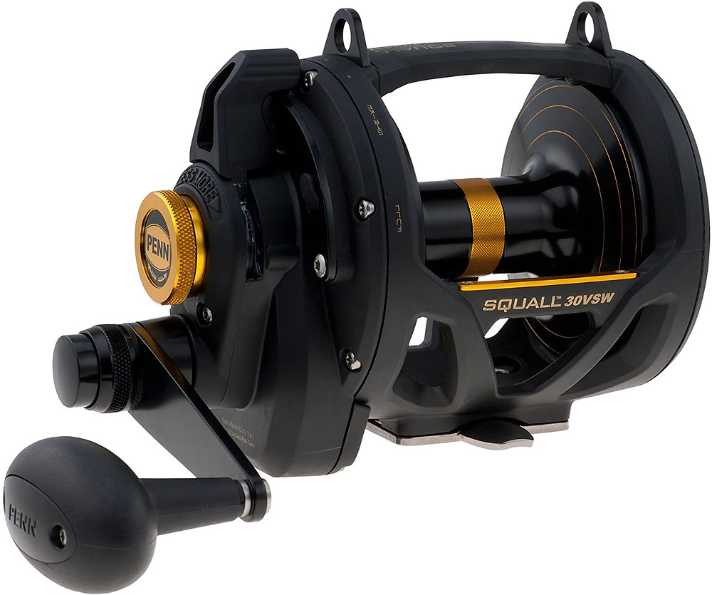 Fishing reel review of Penn Squall 30vsw by Screaming Reels Fishing Charters & Guesthouse
