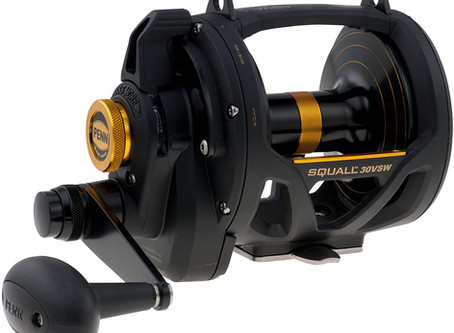 GEAR REVIEW: Penn Squall Lever Drag 2-Speed Trolling Fishing Reel