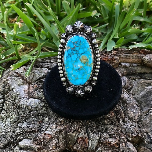 Turquoise ring size 7 - 4R