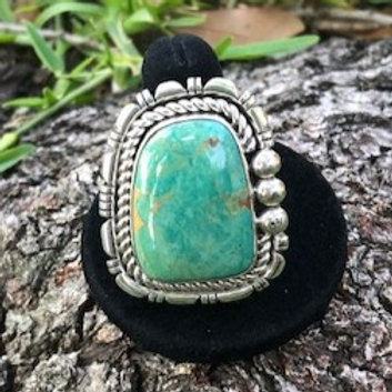 Turquoise ring size 10 - 33R