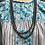 "Thumbnail: 60"" Navajo Pearl necklace, 8mm beads"