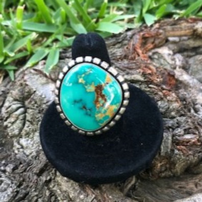 Turquoise ring size 8.5 - 43R