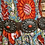 Thumbnail: Navajo sterling silver concho belt with blood red coral stones, signed D. Reeves