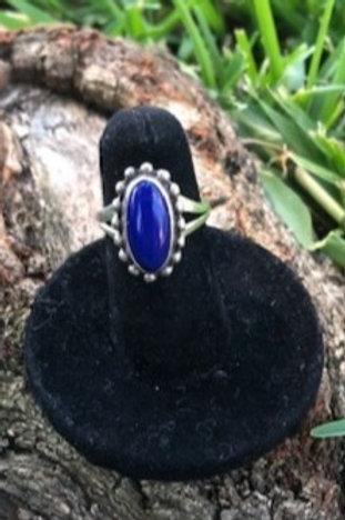 Lapis ring size 5 - 18R