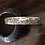 Thumbnail: Silver horse story bracelet with hand-tooling by Lloyd Becenti, Navajo