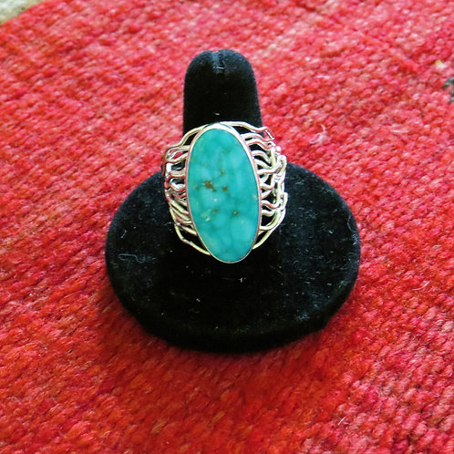 Turquoise ring. Size 9.5