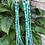 """Thumbnail: Sold- 60"""" three strand Royston & Kingman turquoise necklace. $1995."""