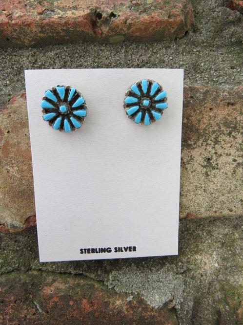 SOLD: Zuni stud earrings $65