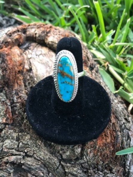 Turquoise ring size 6 - 16R