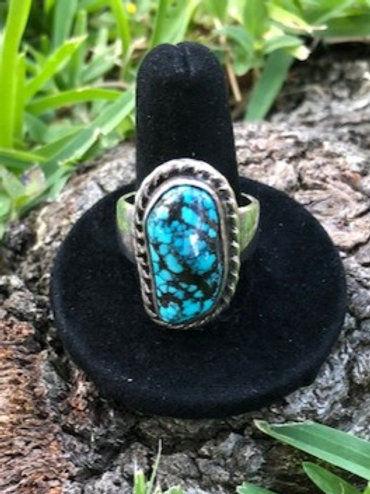 Turquoise ring size 10 - 66R
