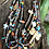 Thumbnail: 5 strand treasure necklace with reversible dragonflies and multi stones