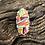 Thumbnail: Orange spiny, turquoise, purple spiny and gaspeite cobblestone ring, Sz.9