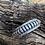 Thumbnail: Sterling silver cuff bracelet by Navajo Priscilla Apache