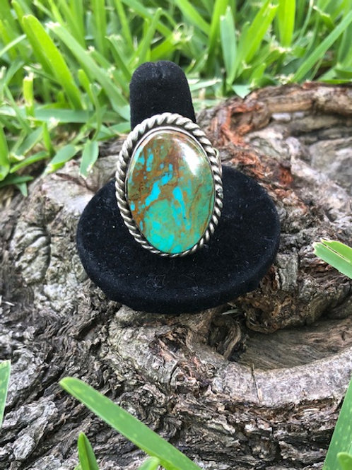 Turquoise ring size 12 - 24R