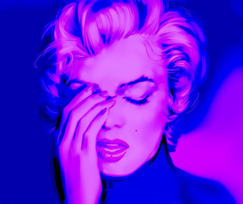 Metin Salih Purple Marilyn.jpg