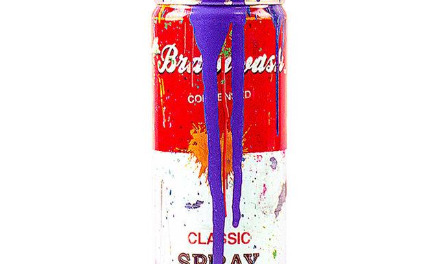 Tomato Spray Can (Purple) - Mr Brainwash