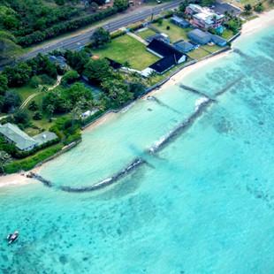 Royal Hawaiian Estate - Aerial View