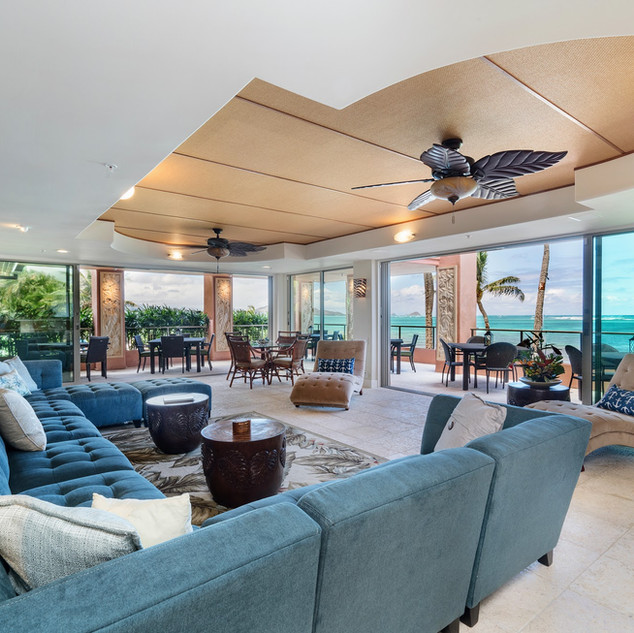 Royal Hawaiian Estate - Open Concept Living Room