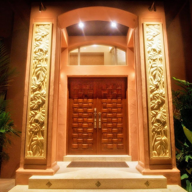 Royal Hawaiian Estate - Main Entrance