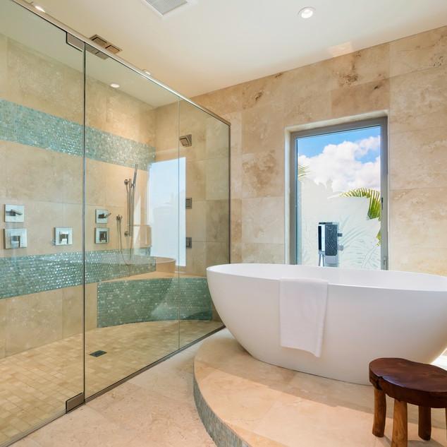 Royal Hawaiian Estate - Master Bath Shower
