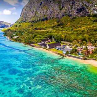 Royal Hawaiian Estate - From the Sky