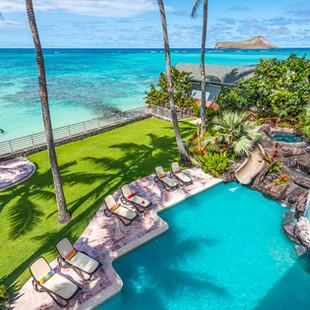 Royal Hawaiian Estate - Lanai View