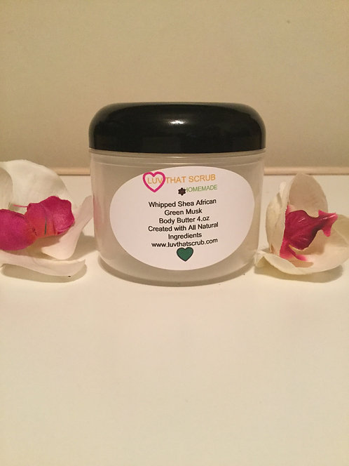 AFRICAN GREEN MUSK  BODY BUTTER