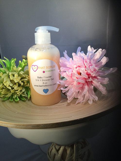 Baby Powder 3-1 Shower Gel