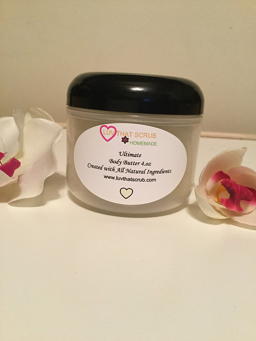 ULTIMATE BODY BUTTER, NON WHIPPED