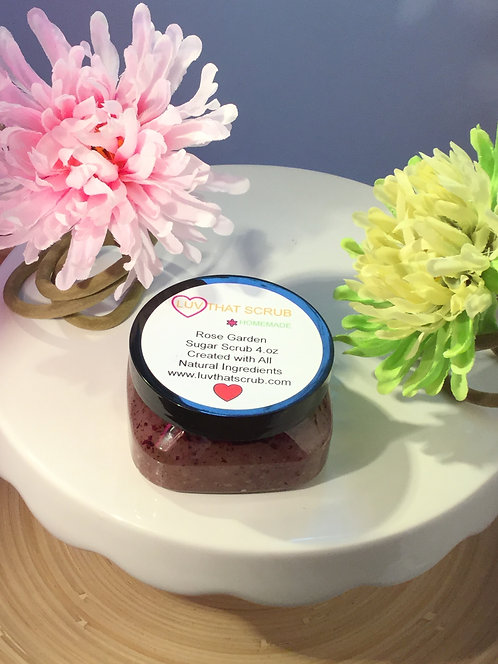 Rose Garden Sugar Scrub