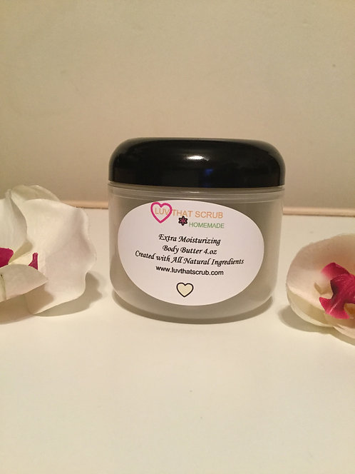 Extra Moisturizing Body Butter, Non Whipped
