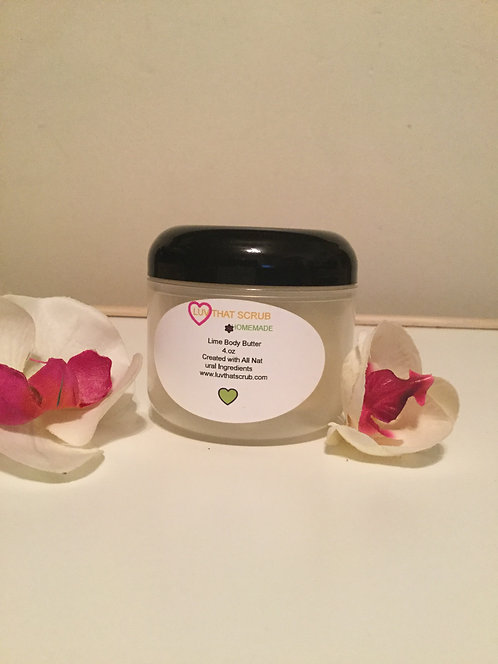 Lime Body Butter