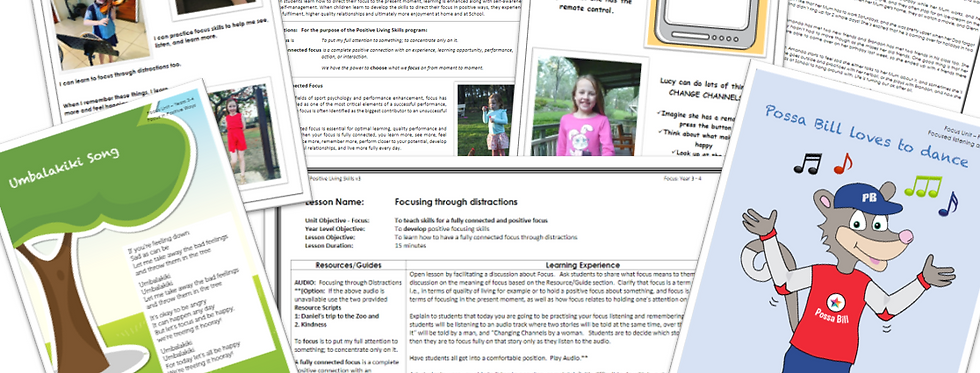 PLS Module FOCUS: 24 Lessons Foundation to Year 6