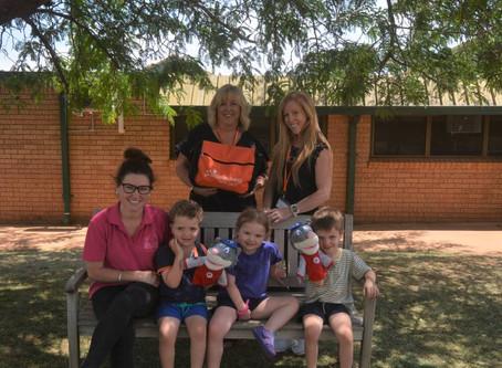 'Positive Living Skills Program travelled across western NSW'