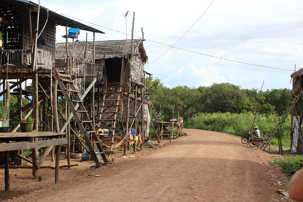 Dry Season Floating Village