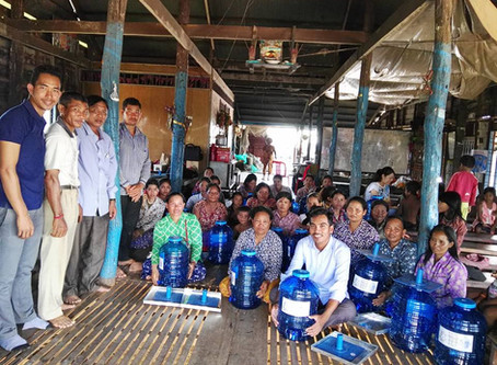 Clean Water Filters Have Arrived in Kompong Khleang