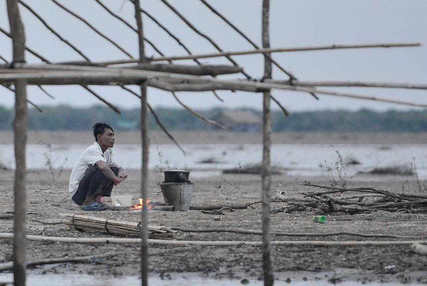 Tonle Sap Lake Dry Season