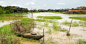 View of the Floating VIllage in Siem Reap