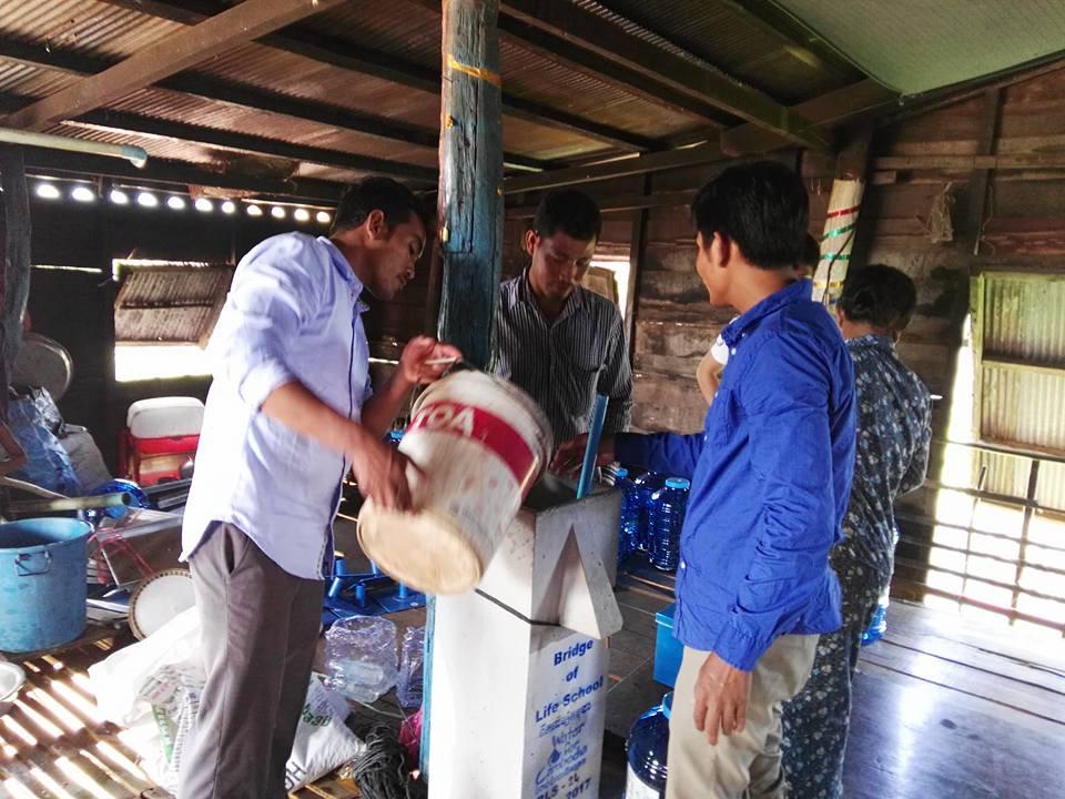 Kompong Khleang Biosand Filter