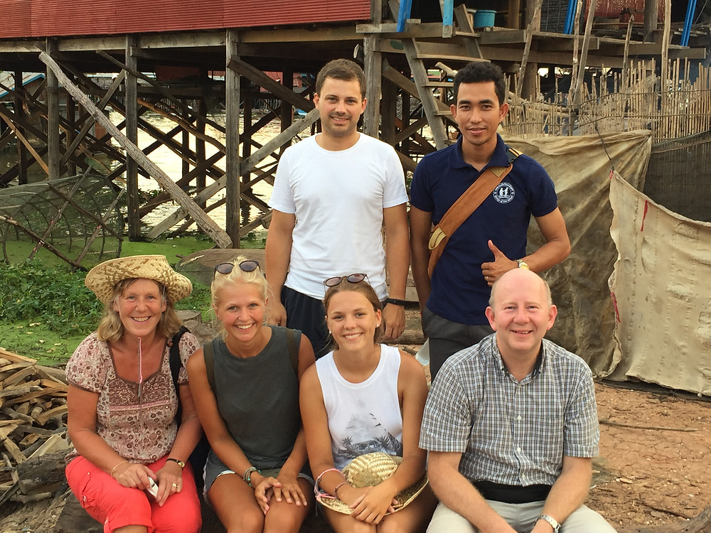 Siem Reap Floating Village Group Photo
