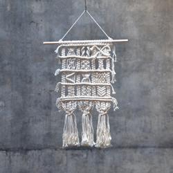 DIY Makramé Väggbonad Ljung