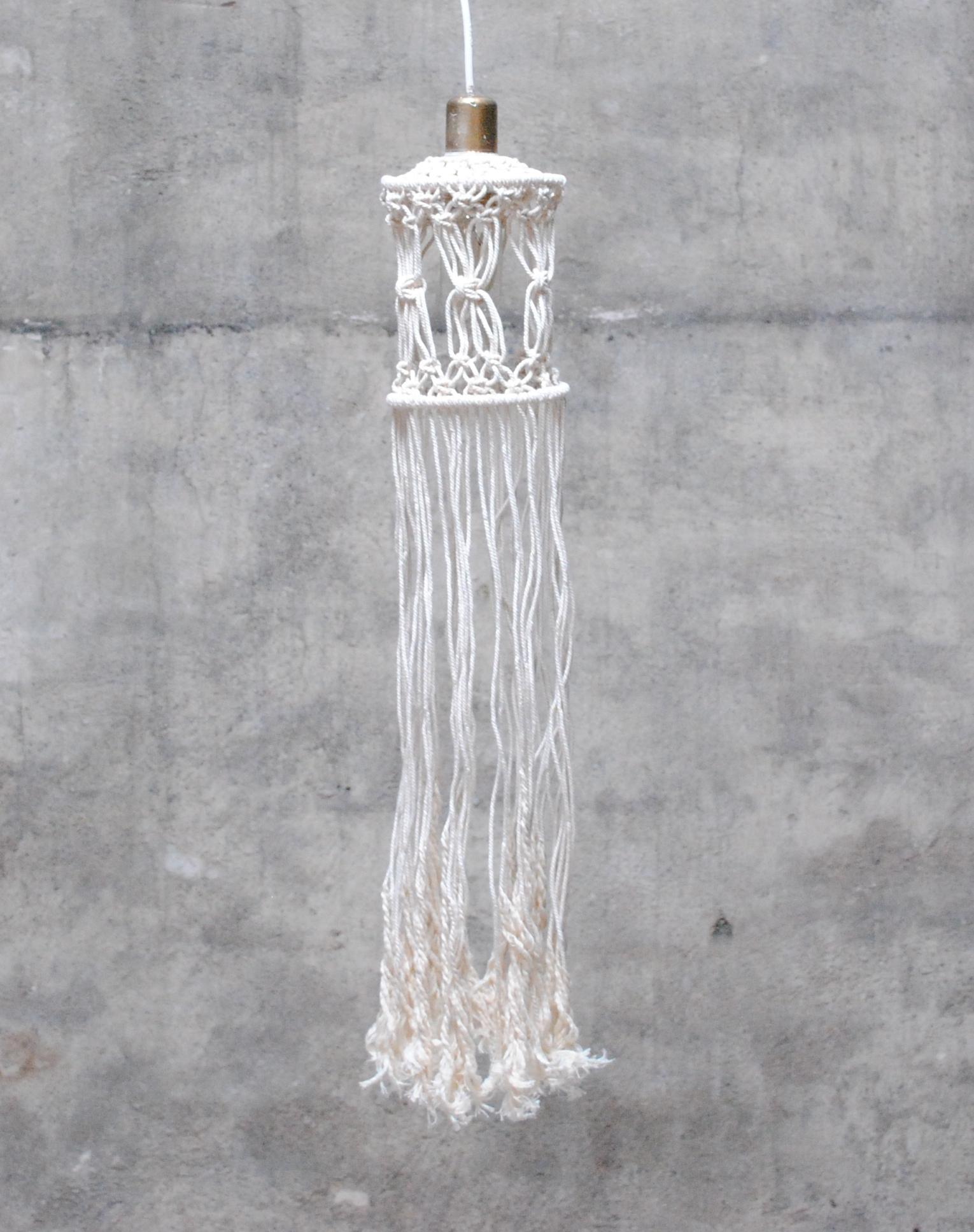 DIY Makramé Lampa