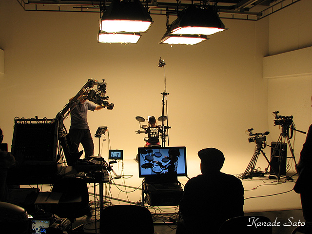 Roland HD-3 Video Shooting