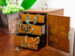 Komai metal inlay jewellery