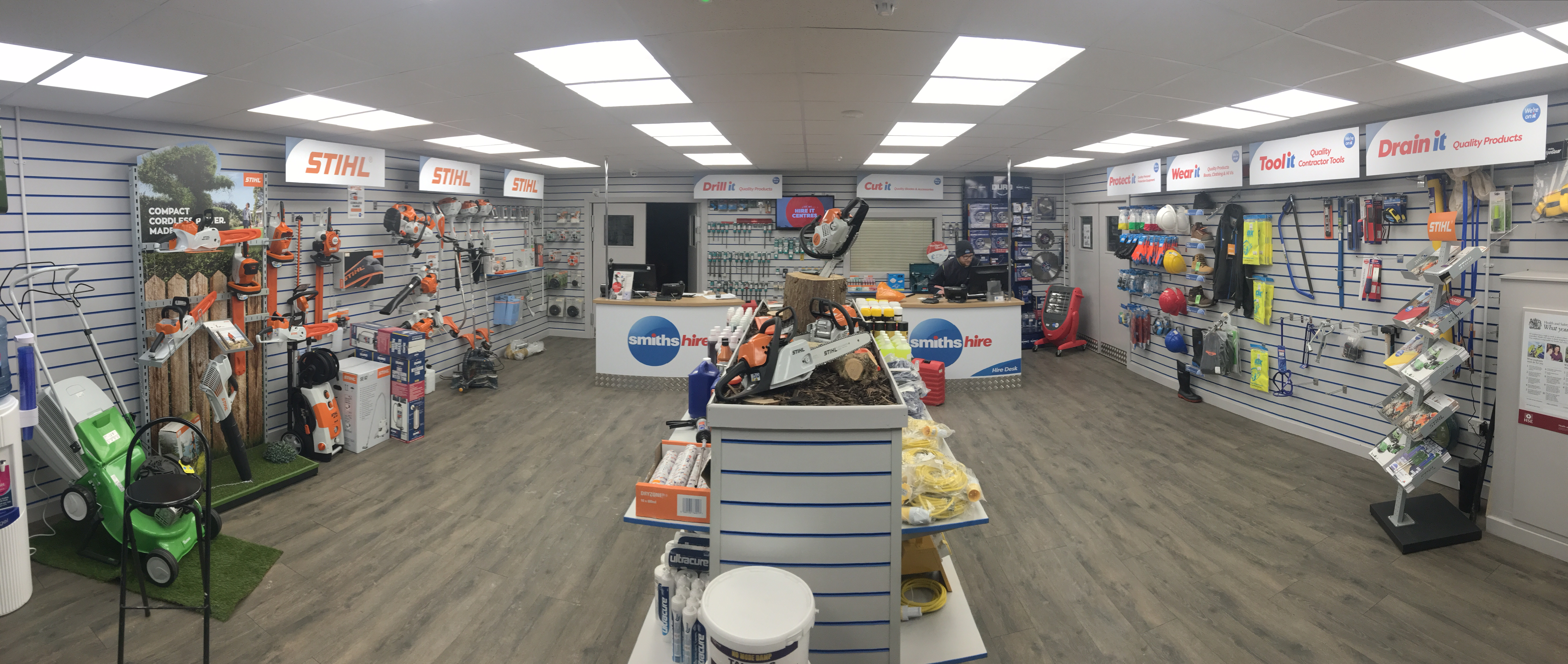 Shop fitting and refurbishment