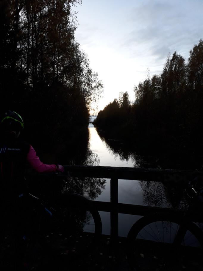 Rosa bandet-cykling i Vasa