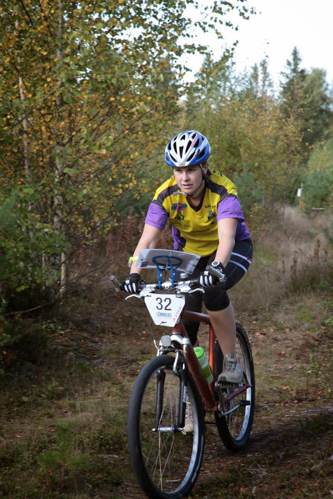 Min första cykelorienteringstävling i Kurikka