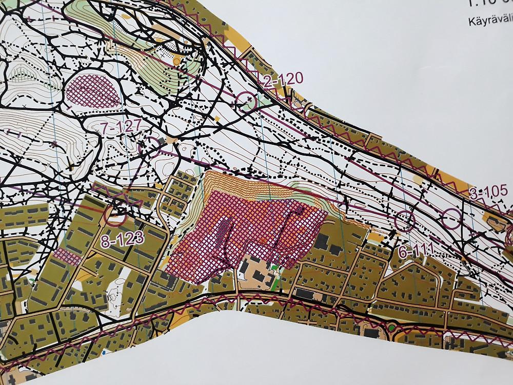 Kartbit från medeldistansen