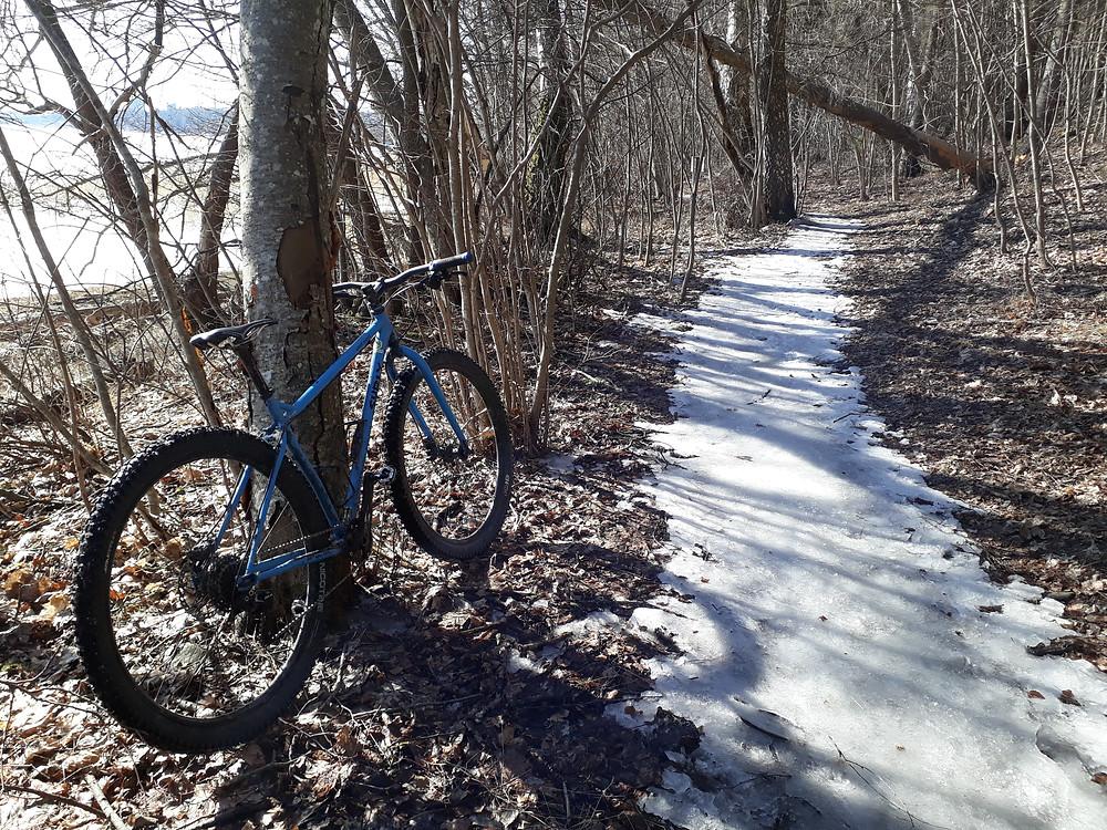 Lånad cykel