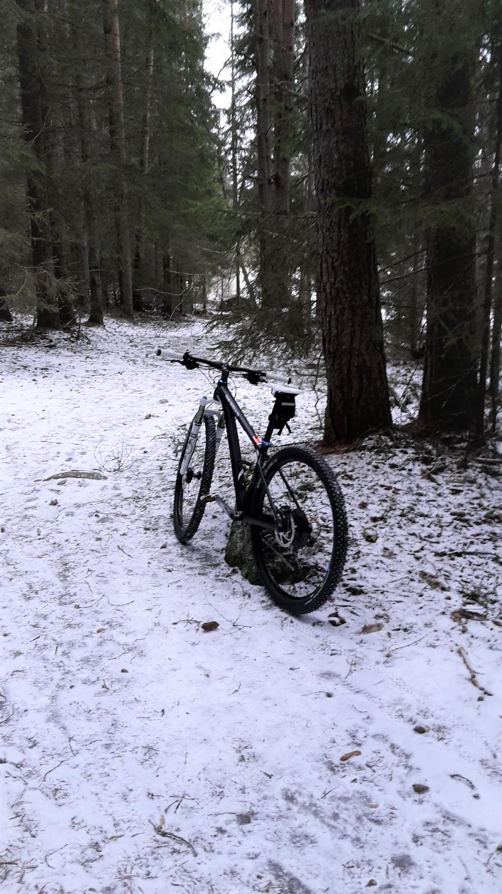 Första länken med ny cykel